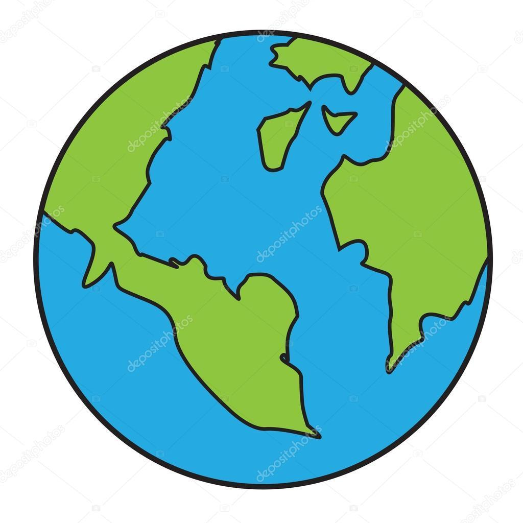 Best Earth Drawing Vector Library » Free Vector Art, Images.