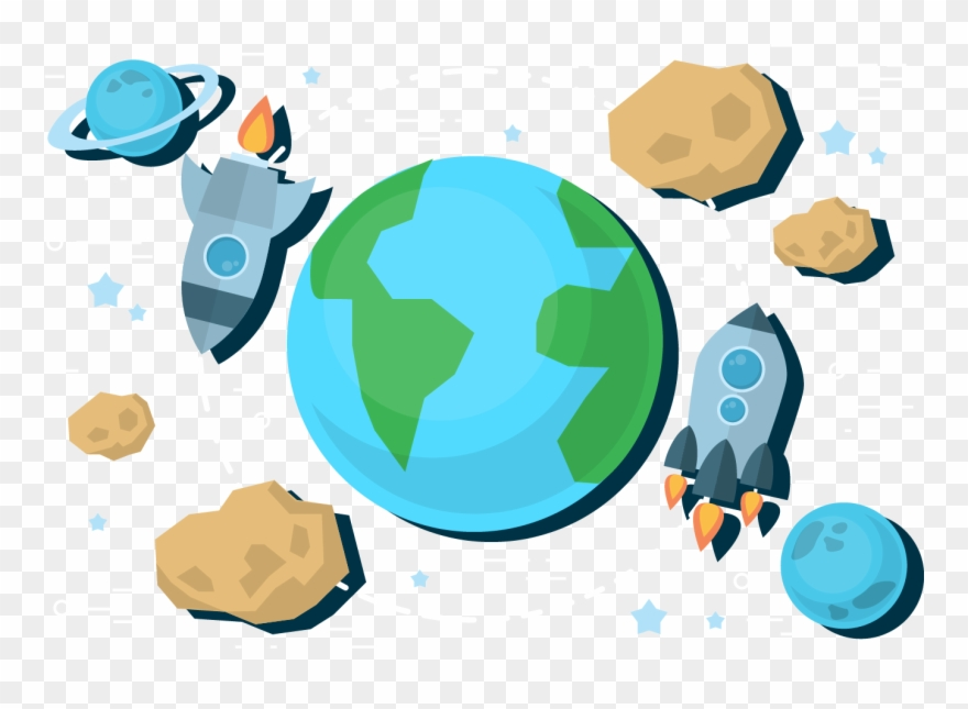 Earth And Space Clip Art.