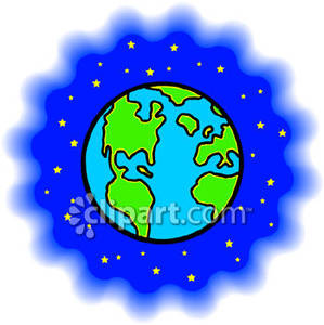 Earth and space clipart 4 » Clipart Station.