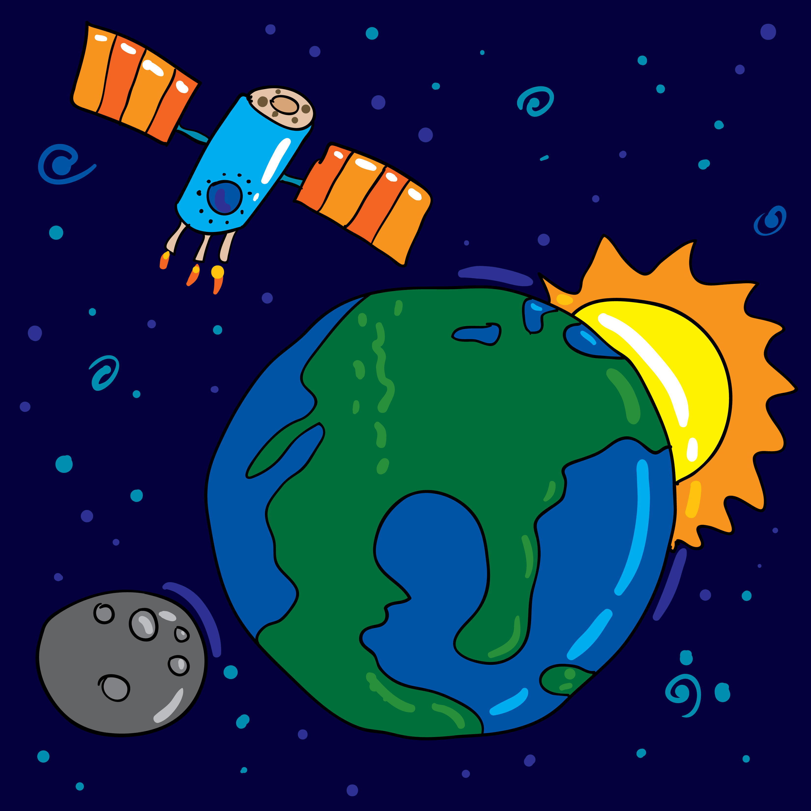 Earth and space clipart 8 » Clipart Station.