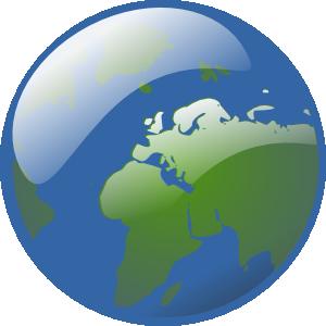 Earth Globe Clip Art at Clker.com.