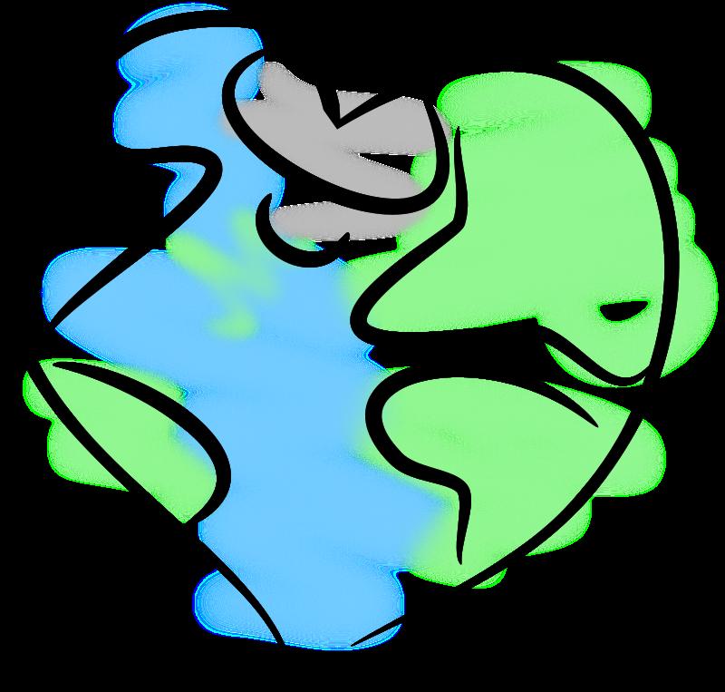 Free Clipart: Earth Heart.