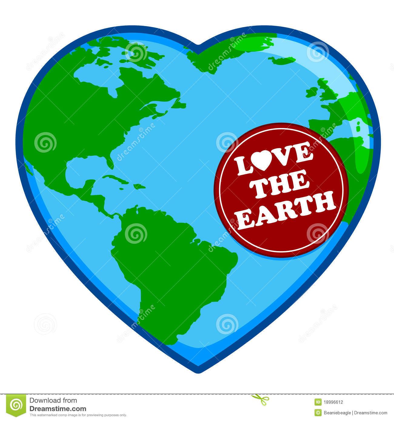 Heart Shaped Earth.