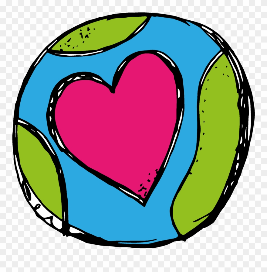 Earth Heart Png Clipart (#38438).