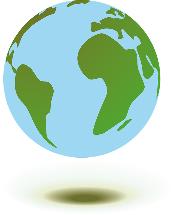 Free vector graphic: Home, Globe, Planet, Earth.