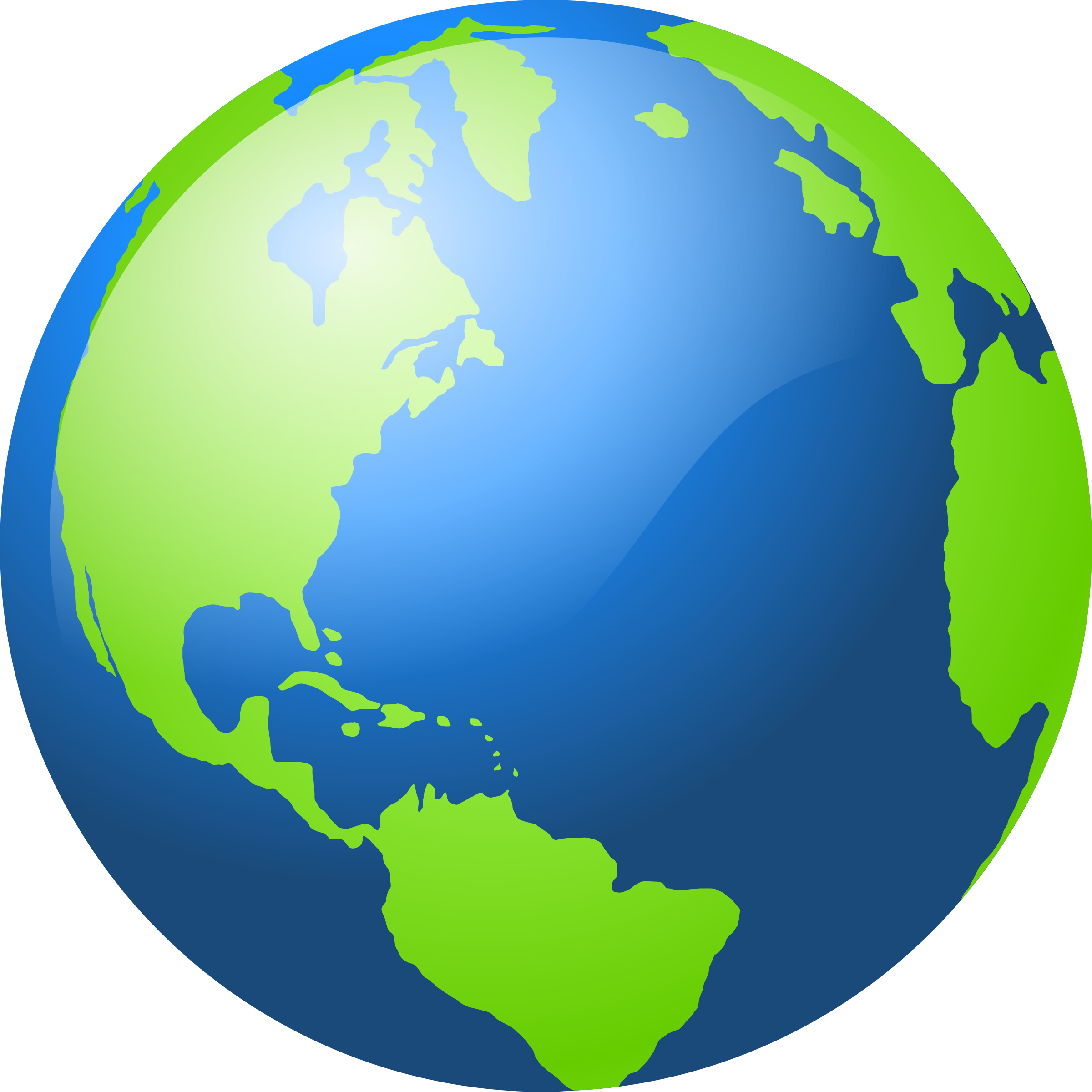 Earth by @barretr, An Earth icon., on @openclipart.