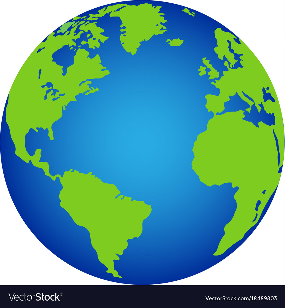 Planet earth icon.