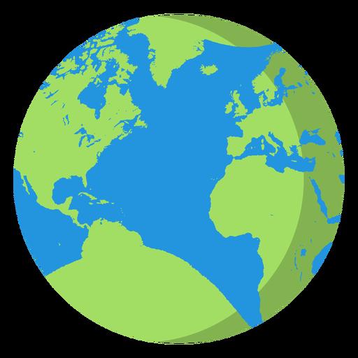 Earth planet icon earth icon.