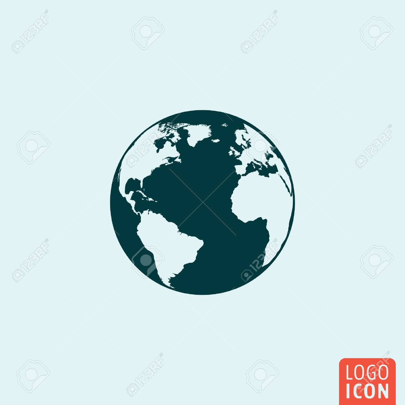Globe earth icon. Globe earth icon. Globe earth logo. Globe earth...