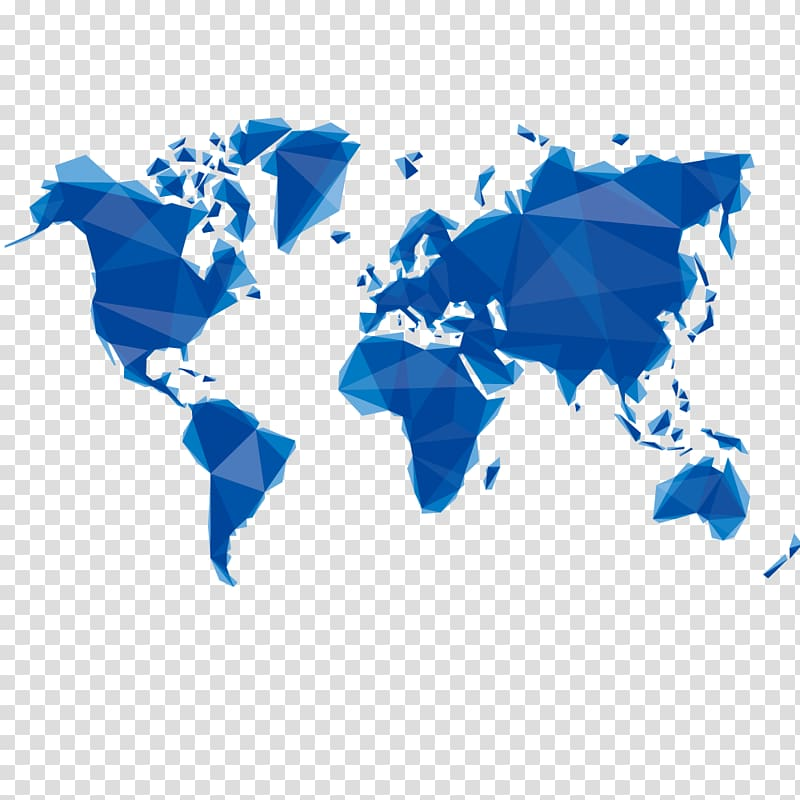 World map Globe Silhouette, Earth map transparent background PNG.