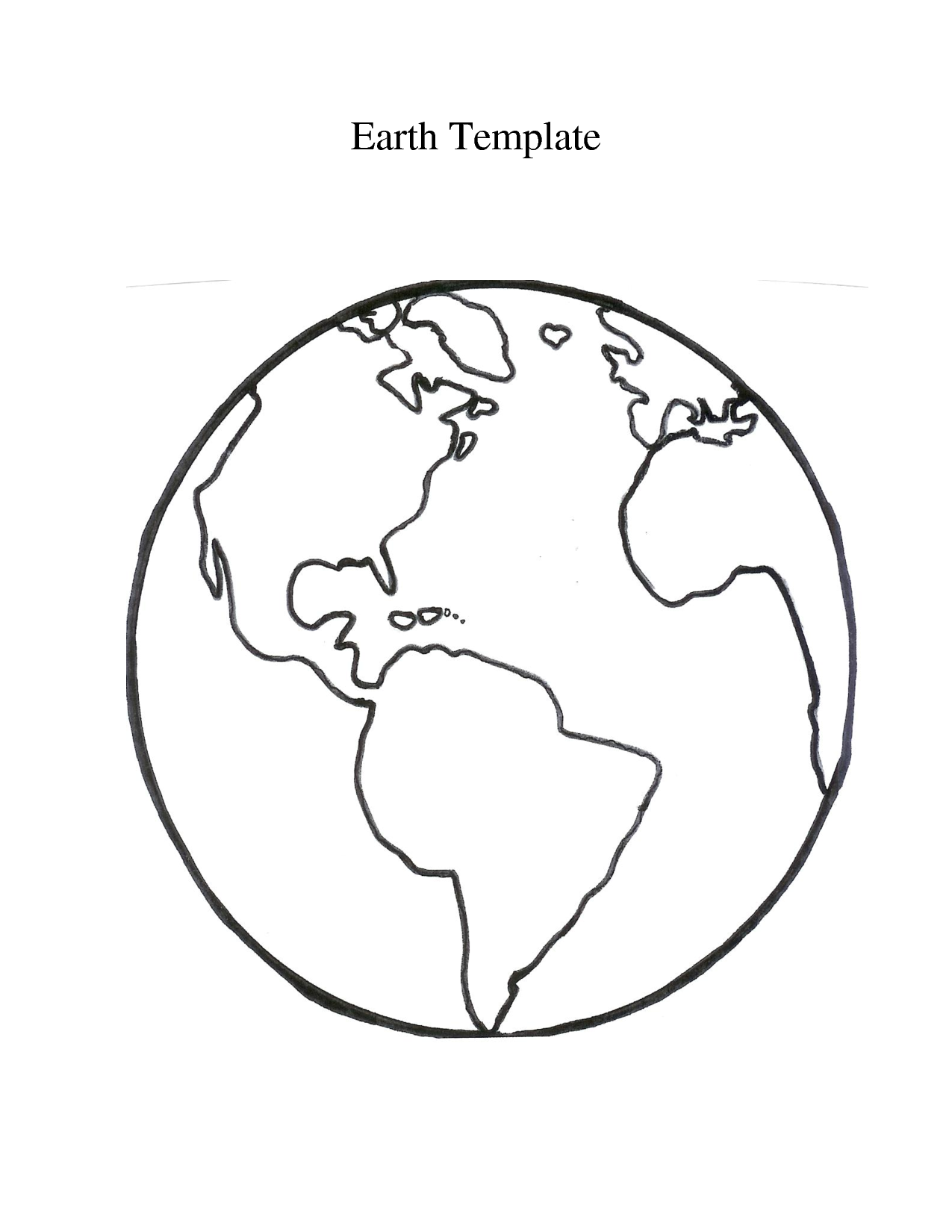 Free Globe Outline Cliparts, Download Free Clip Art, Free.