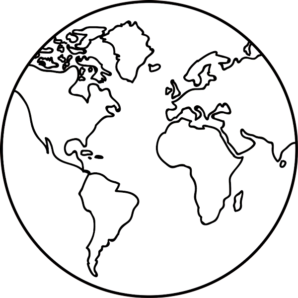 Earth Outline Png, png collections at sccpre.cat.