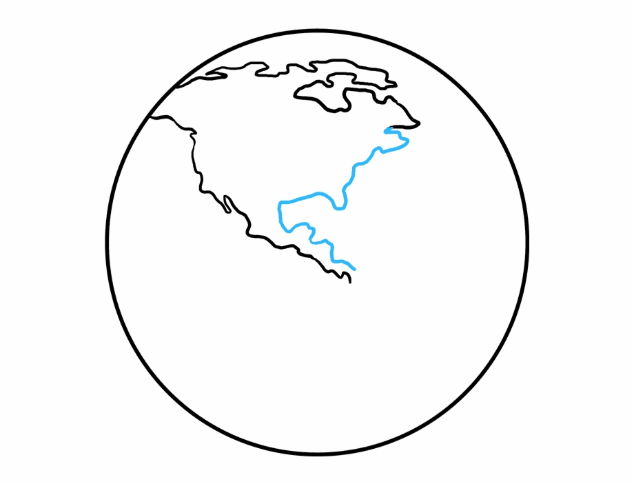 How To Draw Earth.
