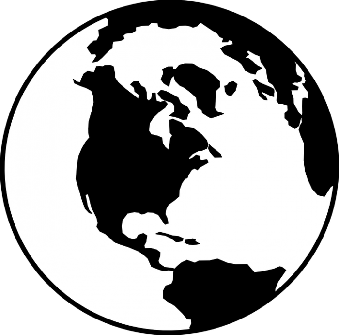 Earth Outline Png Vector, Clipart, PSD.