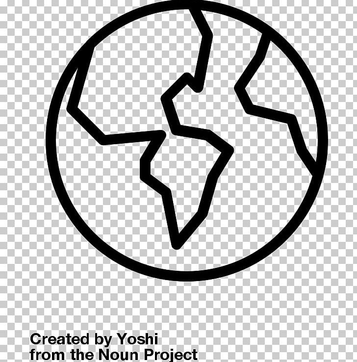 Outline Of Earth Sciences Globe PNG, Clipart, Area, Black And White.
