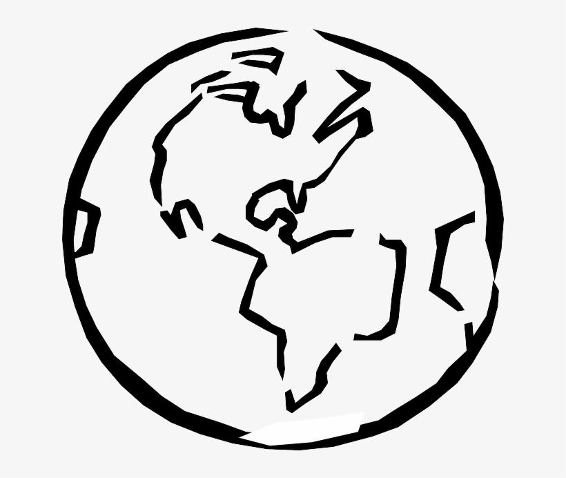 Black, Outline, Globe, World, Planet, Earth, Sketch.