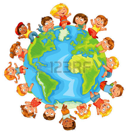 Earth People Stock Vector Illustration And Royalty Free Earth.