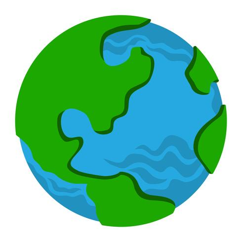 Globe Earth Planet graphic.