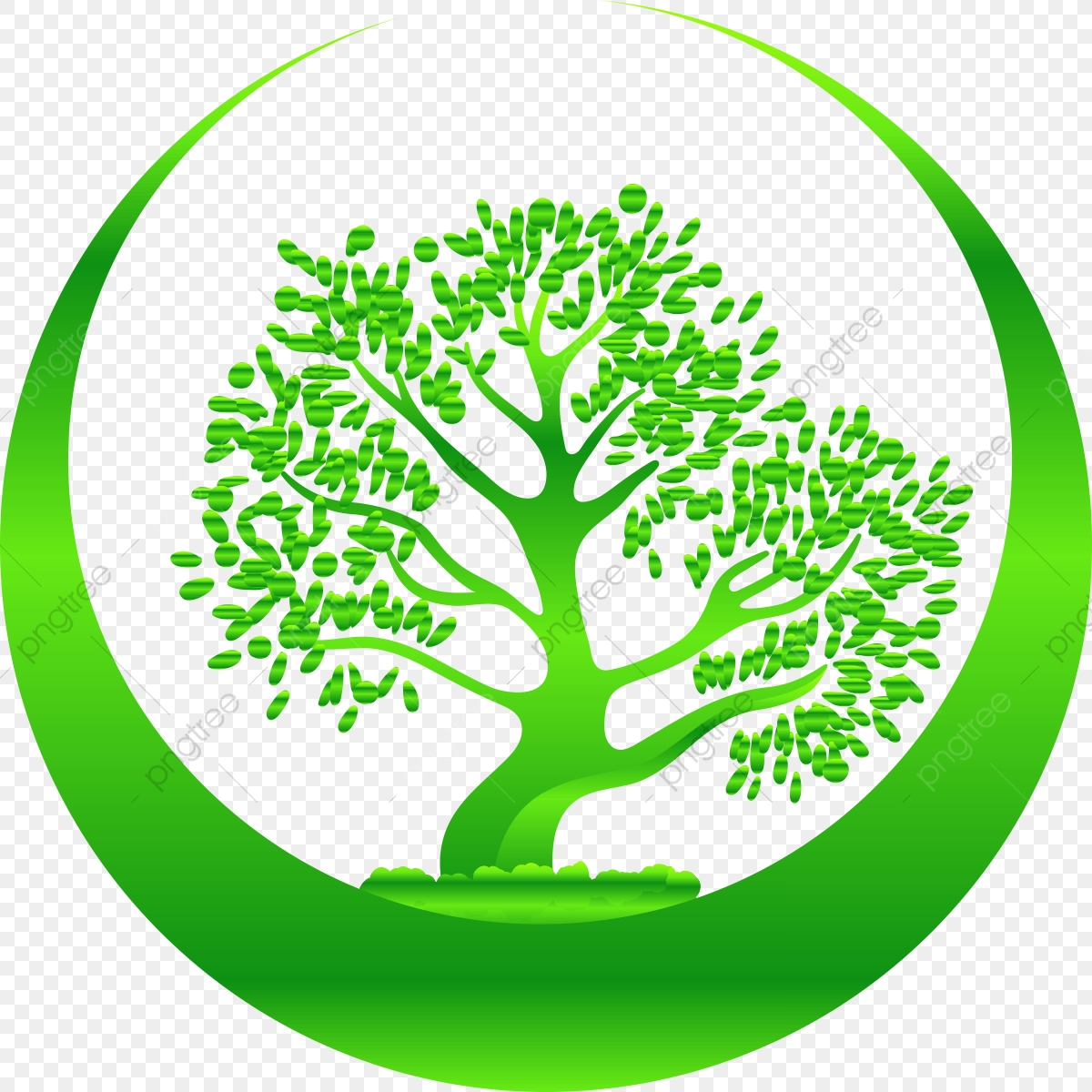 Tree Logo Ecology, Ecology, Green, Earth PNG and Vector with.