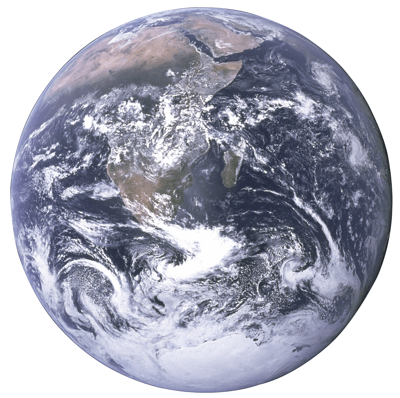 Earth transparent PNG.