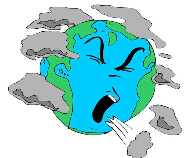Earth pollution clipart 8 » Clipart Station.