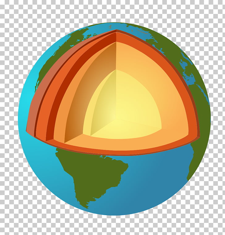 Earth\'s spheres Geology Crust Mantle, Scale PNG clipart.