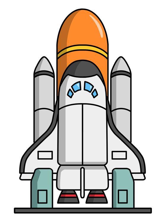 Rocket Ship Clip Art Free.