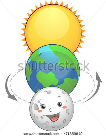 Earth Sun Stock Images, Royalty.