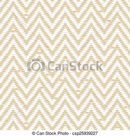 Vector Illustration of Herringbone Tweed pattern in earth tones.