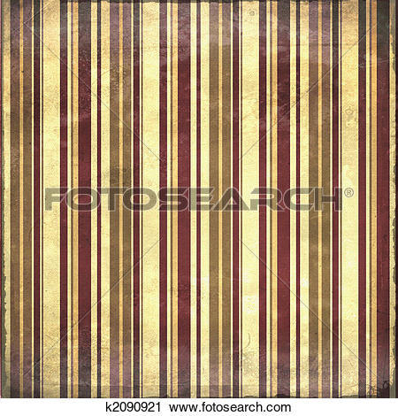 Clipart of Shabby distressed striped background in earth tones.