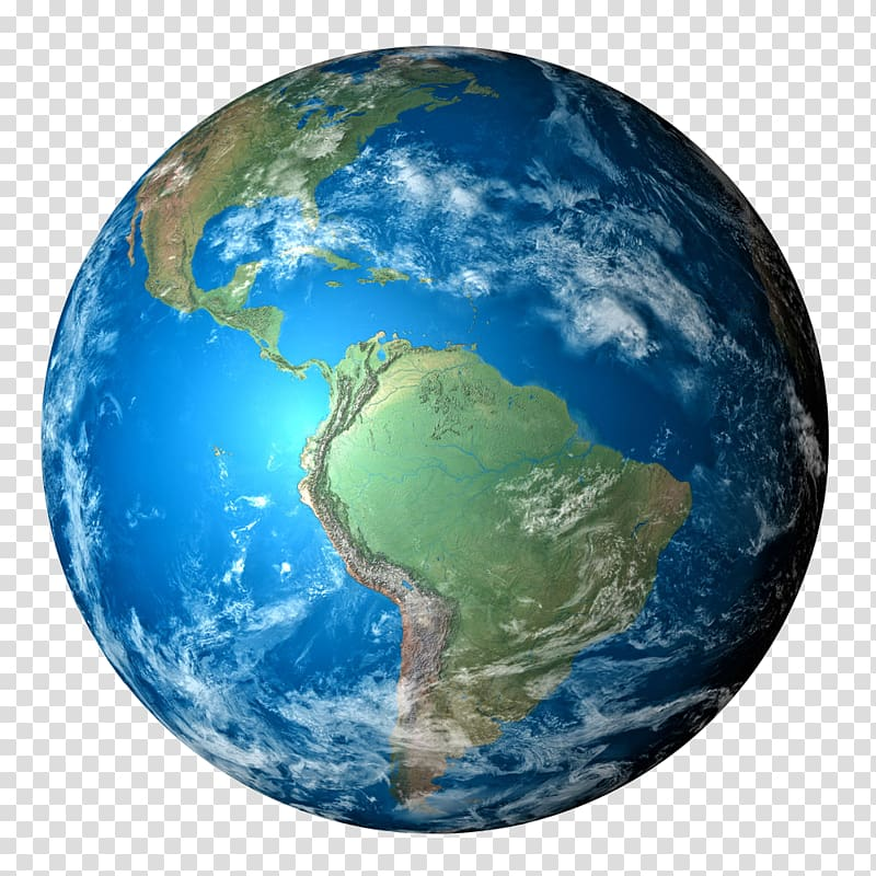 Planet earth, Earth Planet , Blue Earth transparent.