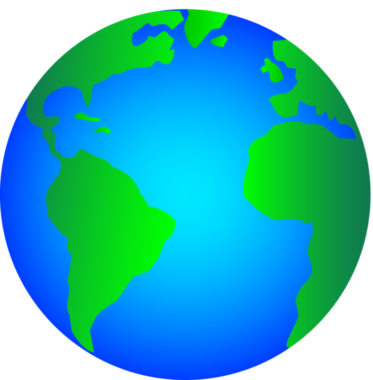 World Globe Clip art.