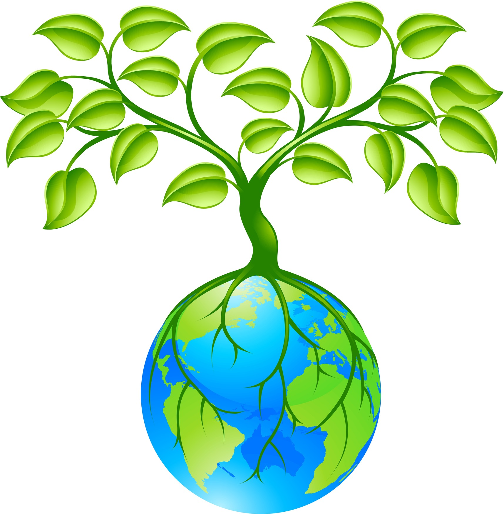 Earth Day Plant Tree Clipart.