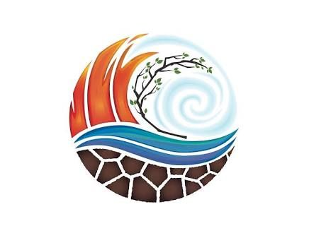 Image result for earth wind water fire logo.