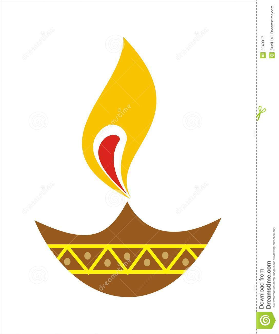 Oil Lamp Clipart Black And White.