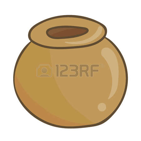 586 Earthenware Pot Stock Vector Illustration And Royalty Free.