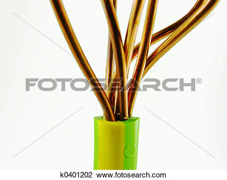 Stock Photo of Earthing Cable k0401202.