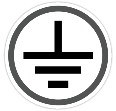 Electrical Ground Symbol.