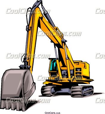 Construction excavating Business Card logos.