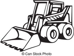 Earth Moving Equipment Clipart.