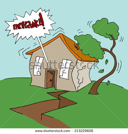 Hand Drawn Cartoon Character Man House Stock Vector 65775748.