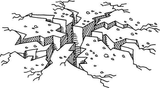 Clipart earthquake.