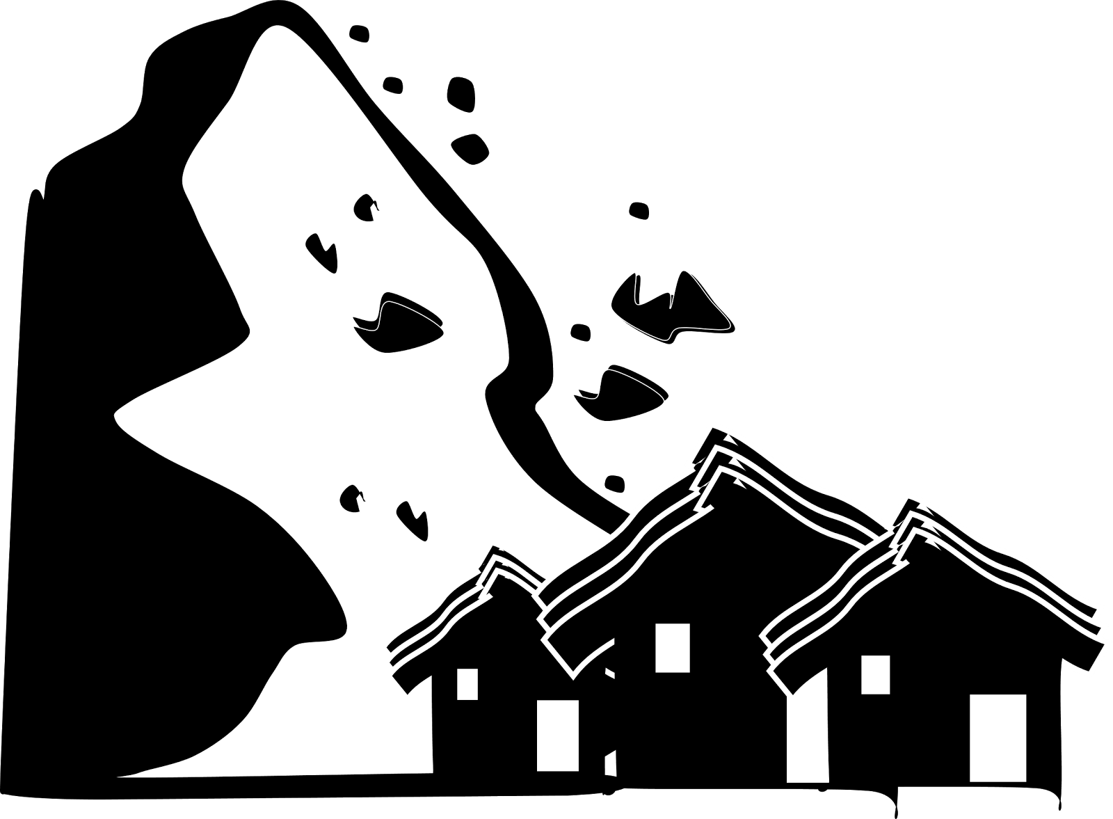Free Earthquake Clipart Black And White, Download Free Clip.