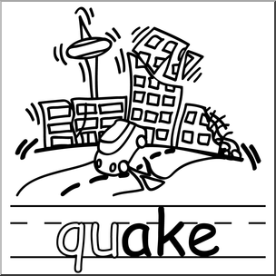 Earthquake clipart black and white 1 » Clipart Station.