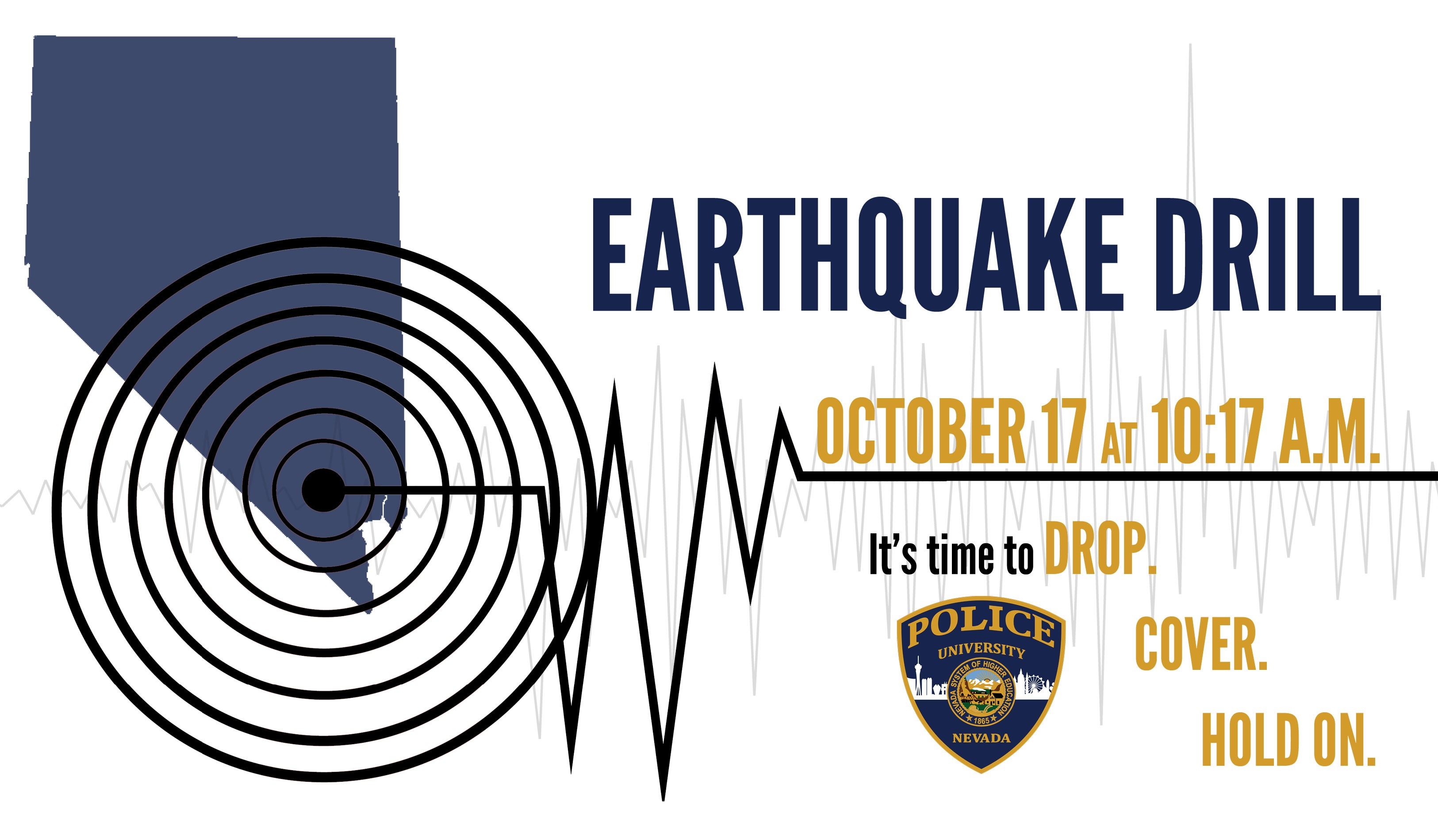 Great Nevada ShakeOut Earthquake Drill.