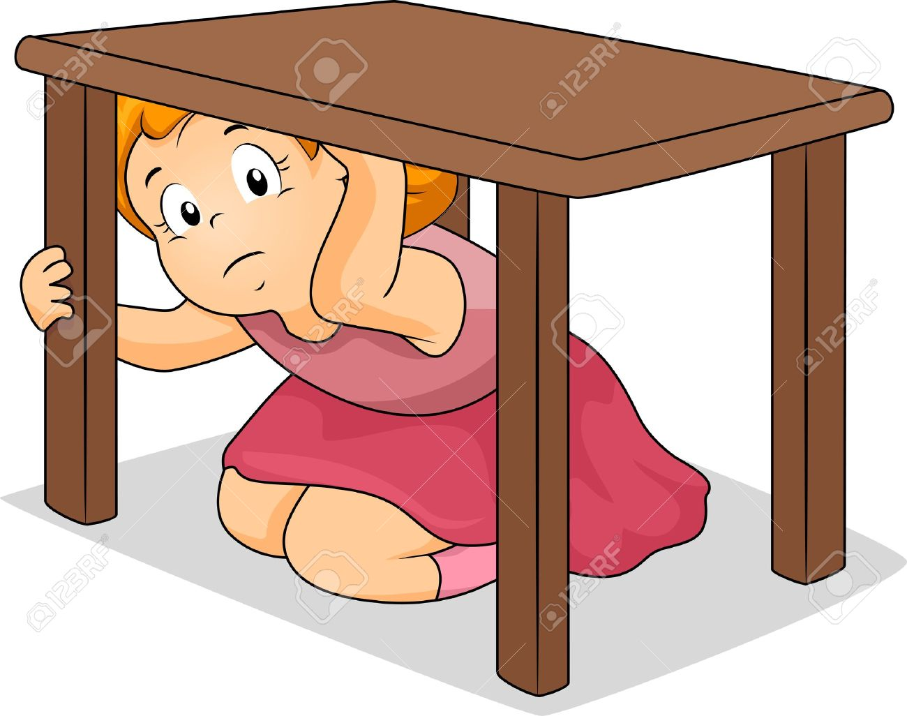 Earthquake drill clipart 3 » Clipart Station.