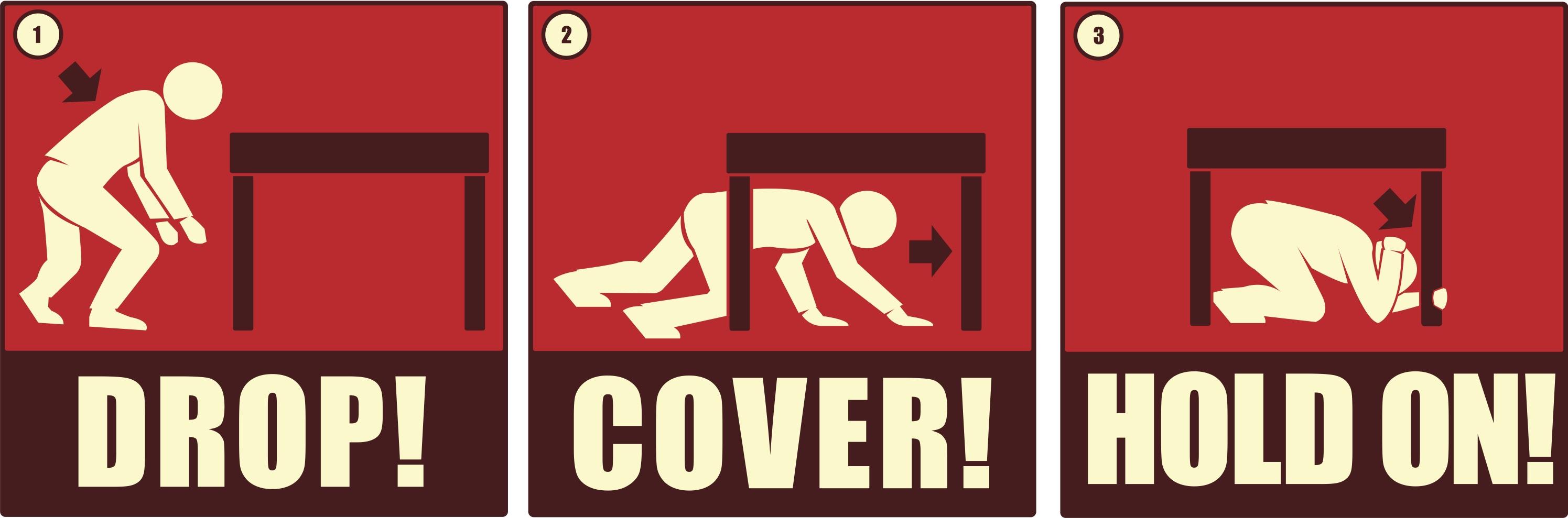 Earthquake Preparedness Clipart.