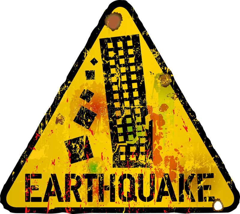 Earthquake Safety Stock Illustrations.