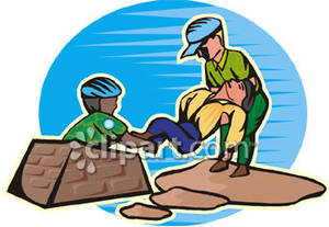 After an earthquake clipart.