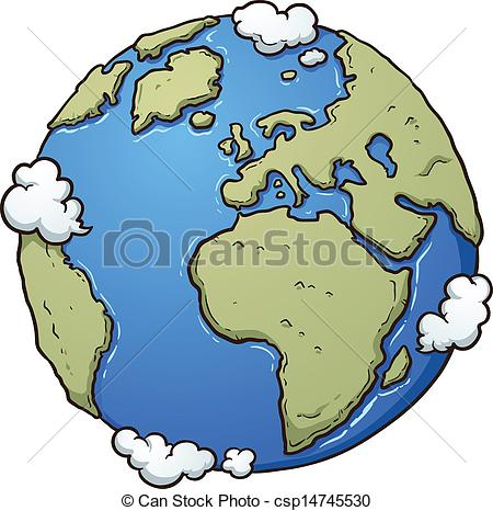 The earth's atmosphere clipart #2